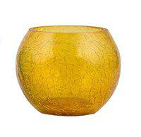 Cratly Candle Holder/Tea Light Holder/Table top Candle Holder for Office Home Mosaic Glass Design 3x3x3 (LXBXH) inch