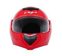 Vega Crux DX Flip-Up Helmet (Red, L)
