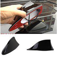 Benjoy Car Shark Fin Roof Antenna Radio FM/AM Car Accessories Decorate Black for Ford Endeavour