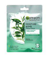 Garnier Moisture Bomb Green Tea Hydrating Face Sheet Mask