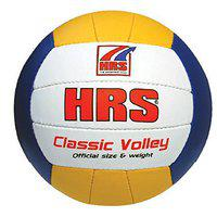 HRS Classic Volleyball - Size: Full, Diameter: 21 cm