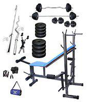 Starx 50 Kg Home Gym Combo With 8 In 1 Bench
