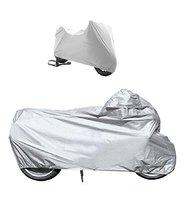 A2D Extra Large Bike Body Cover Silver- for Bike of Royal Enfield Electra