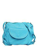 Vintage Women'S Sling Bag(Sky Blue,Bag 325)