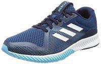 eadc48218 Adidas Men s Aerobounce Racer M Blunit Ftwwht Vapblu Running Shoes - 10 UK