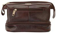 Leatherman Toiletry Bag Brown Toiletry Bag