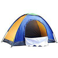 IRIS Portable Tent for 4 Person Outdoor Tent Camping Tent (200 X 200 X 135 cm)