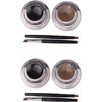 MITENO Music Long lasting Smudge Proof Gel Eyeliner 12 g(Carbon Black)