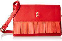 Global Desi Girls Sling Bag (Burgundy)