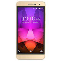 TASHAN TS 861 5-inch Screen Mobile Phone with 5 MP Camera, 1800 mAh Battery, Android (Dual Sim, Gold, 512 MB RAM and 4GB Internal)