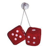 Benjoy Red Dice Hanging Car Perfume for All Car