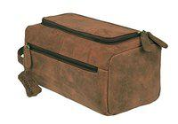 Leaderachi Hunter Vintage Leather Toiletry Bag (3080-01)