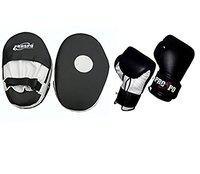 PROSPO Straight Focus Pad with Boxing Gloves