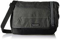 Fastrack Polyester 12.19 Ltrs Grey Messenger Bag (A0618NGY01)