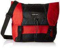 Fastrack Polyester 20.45 Ltrs Red Messenger Bag (A0626NRD01)