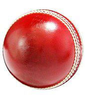 Forever Online Shopping Genuine PVC Rubber Coated Cricket Ball (Red)