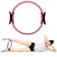 FITSY Yoga Pilates Resistance Exercise Ring Magic Circle for Core Strengthening, Full Body Toning & Fitness Workouts