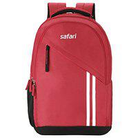 Safari 27 Ltrs Red Casual/School/College Backpack (Sport)