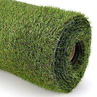 Premium High Density Authentic Artificial Grass For Balcony Garden or Doormat, Soft and Durable Plastic Turf Carpet Mat with easy installation and easy to maintain, Artificial Grass by Griiham 30 mm 6.5* 2 feet