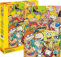 Aquarius Nickelodeon Cast 1,000 Pc Puzzle Jigsaw