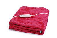 Expressions Electric Bed Warmer - Super Soft Electric Blanket - Single Bed Size (150cms x 80cms) - Made in India - 104SB
