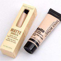 Miss Rose 4 colors liquid foundation makeup matte wear face bb cc cream base maquiagem Long Lasting foundation fond concealer