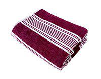 Space Fly Fine Soft & Cotton Attractive Striped Bath Towel (70X140CM_1 Piece)