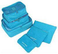 Vepson Travel Waterproof Pouch Make Up Cosmetic 6 in 1 Storage Bags Multi Color