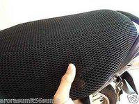 Bigzoom 3D Mesh Bike/Scooty Seat Cover for -Royal Enfield Bullet 350