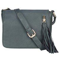 Old Tree Women's Solid Sling Bag (Green)