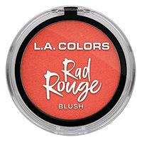 L.A Color Rad Rouge Blush, Poppin, 4 g