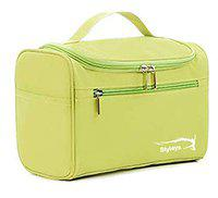Styleys Nylon Toiletry Bags (Green_S1622)