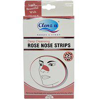 Clenz u Nose Strips - Rose, 6 Pieces Pack