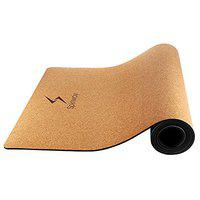 Spinway Unisex Wooden Graphite Durable No-Slip Grip Anti-Microbial Yoga Mat