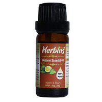 Herbins bergamot oil for skin care, hair growth & aromatherapy- 10ml