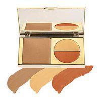 MyGlamm Total Makeover FF Cream Foundation Pallete 5 In 1 (Honey), 5g - Cruelty Free & Vegan