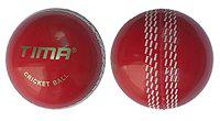 Tima's Set of 2 Leather Cricket Ball 2 Part