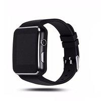 Liddu X6 Smart Watch Compatible with All 3G, 4G Phone Camera and Sim Card Support with Apps Like Facebook and Whatsapp Touch Screen Multilanguage with Activity Trackers and Fitness Band Features