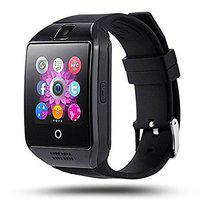 Jiyanshi Bluetooth Smartwatch with Camera TF 2G/3G/4G SIM Card Slot, Alarm and Stop Watch Compatible with All Smart Phones (Black)