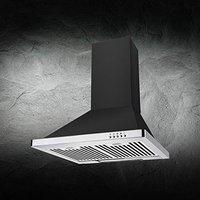 KAFF 60 cm 1080 m3/h Chimney (NERO MX 60, Black)