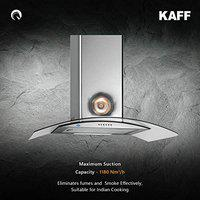 KAFF 60cm 1180 m3/hr Chimney (OPEC MX 60, 1 Cassette Filter, Steel/Grey)