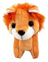 Tickles Soft Animal Pencil Pouch Stationery Box for Kids 23 cm (Brown 10)