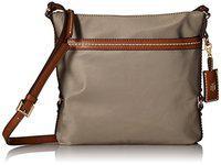 Tommy Hilfiger Women's Nylon Crossbody Bag (Khaki)