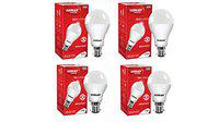 Eveready Base B22 12W Pack of 2 with 7W Pack of 2 LED Bulb Combo (White)