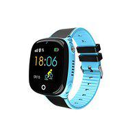 SeTracker Kids Anti-Lost Finder Smart Watch with GPS Tracker, Sim Card and Parents Control App for Android iOS(Blue)