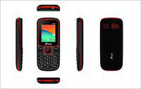 M Tech G14+ Feature Phone (Black Red)
