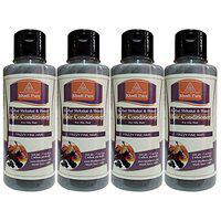 Khadi Pure Herbal Shikakai & Honey Hair Conditioner, 210 ml (Pack of 4)