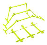 Sahni Sports Quickplay Pro Adjustable Height: 6, 9 + 12 All-In-One Speed Hurdles (Set Of 6) Speed Training Hurdles