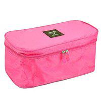 Everbuy Undergarments and Innerwear Storage Bag (26X13X12 Cms) Pink