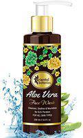 Oriental Botanics Aloe Vera Face Wash - No Parabens, Sulphate, Silicones, 200ml